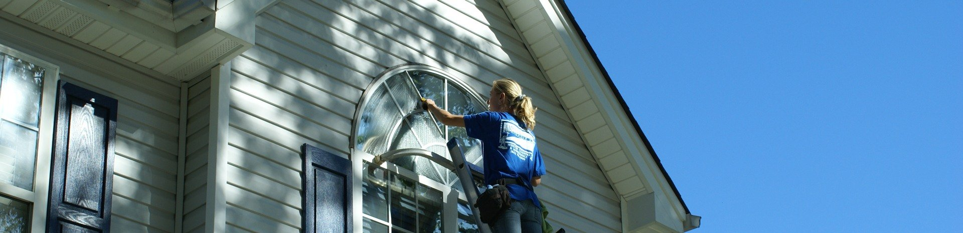 residential window washing and cleaning