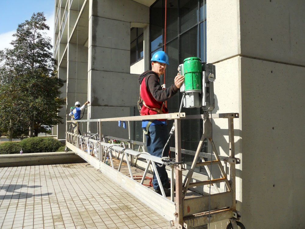 High Rise Exterior Building Services Charleston Sc Awc