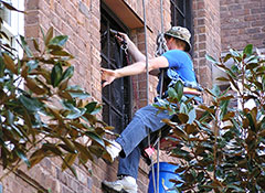 Water Front High Rise Window Cleaning